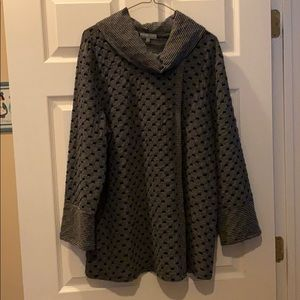 Habitat long sleeve cowl neck tunic